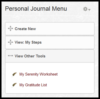 Printables 12 Step Worksheets twelve step journaling online personal journal support groups for 12 steps programs